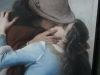The famous kiss by Hayez of Milan