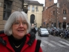 Marla on the Streets of Milan